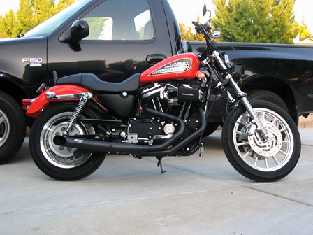 Best 883r 2 To 1 Exhaust System Harley Davidson Forums