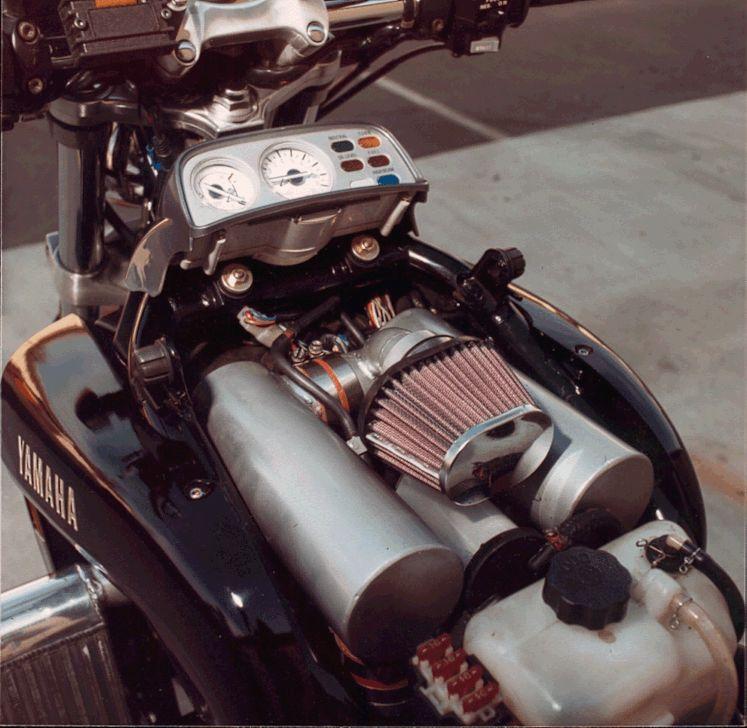 Yamaha V-Max Turbo Under the Hood