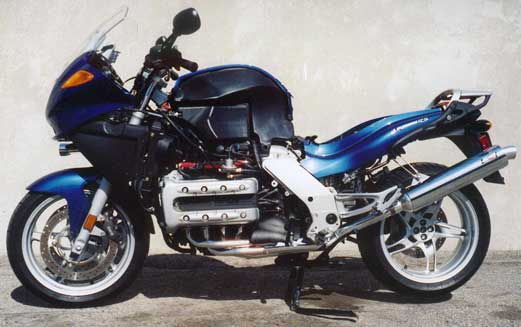 BMW K1200 Black Hole Exhaust Systems