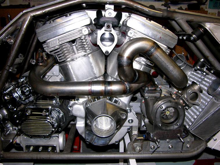 Harley Davidson V Rod Turbo Kit