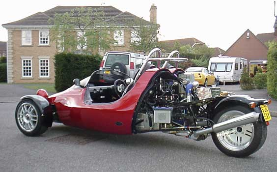 Photo of Grinnall 3 wheel motorcycle car
