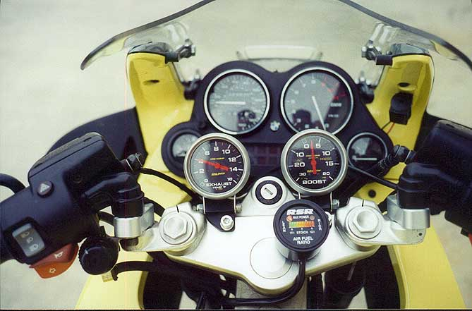 how to add a fuel gauge to a motorcycle